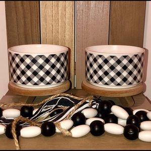 Target Gingham Buffalo Checkered Bowls